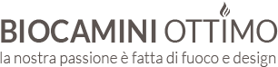 Biocamini Ottimo – BIOCAMINI DA INCASSO e Camino bioetanolo e bruciatori Logo