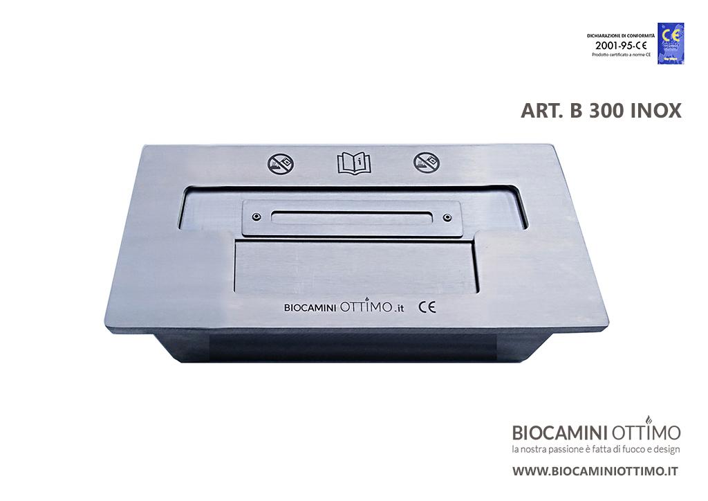 Bruciatore Ottimo Acciaio Inox B300